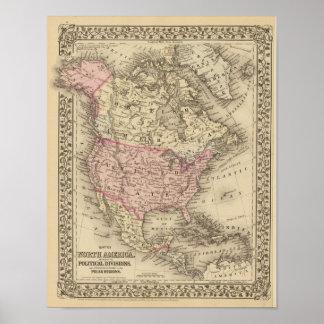 North America 21 Poster