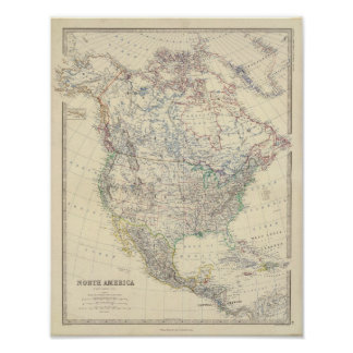 North America 22 Poster