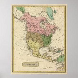 North America 23 Poster