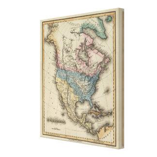 North America 26 Canvas Print