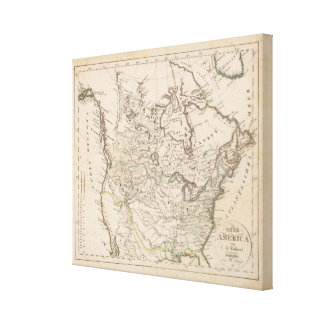North America 27 Stretched Canvas Prints
