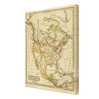 North America 28 Canvas Prints