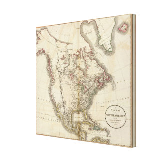 North America 29 Stretched Canvas Prints