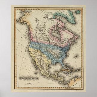 North America 29 Poster