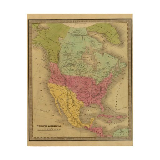 North America 30 Wood Canvases