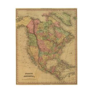North America 31 Wood Prints