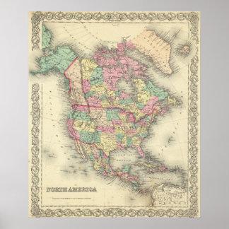 North America 32 Poster