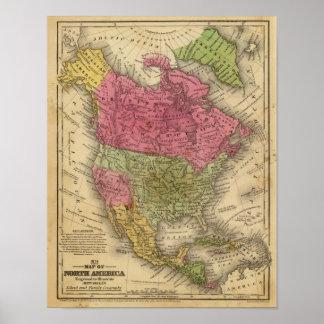 North America 34 Poster