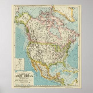 North America 35 Poster