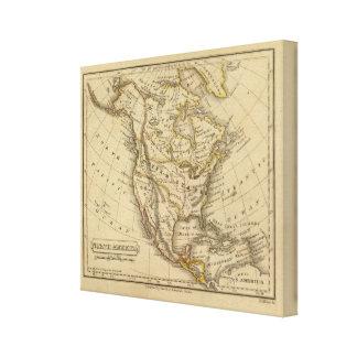 North America 3 Gallery Wrap Canvas