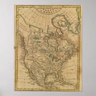 North America 3 Poster