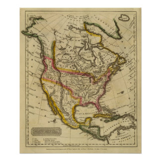 North America 42 Poster