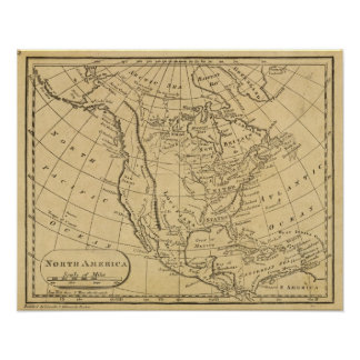 North America 45 Poster