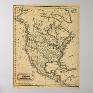 North America 7 Print