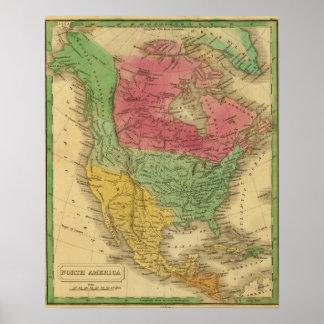North America 9 Poster