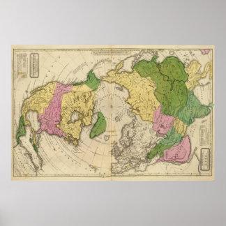North America, Asia Poster