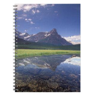 North America, Canada, Alberta, Banff National 3 Spiral Notebook