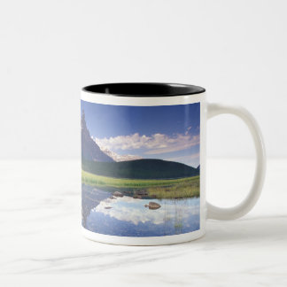 North America, Canada, Alberta, Banff National 3 Two-Tone Coffee Mug