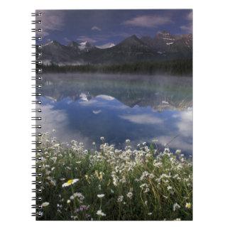 North America, Canada, Alberta, Banff National Spiral Notebook
