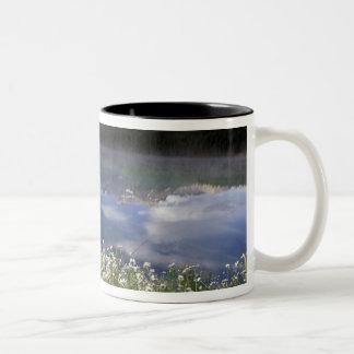 North America, Canada, Alberta, Banff National Two-Tone Coffee Mug