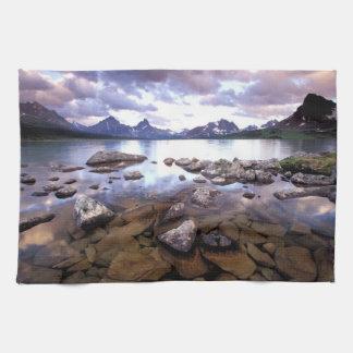 North America, Canada, Alberta, Jasper National Tea Towel