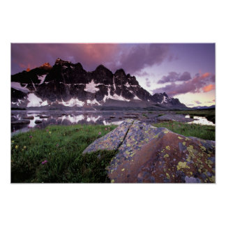 North America Canada Alberta Jasper Poster