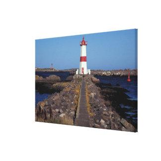 North America, Canada, Miquelon and St. Pierre, Gallery Wrap Canvas