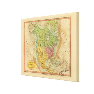 North America Canvas Prints