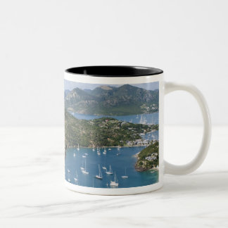 North America, Caribbean, Antigua. English Two-Tone Coffee Mug