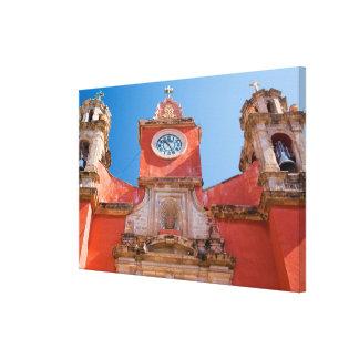 North America, Mexico, Guanajuato. Shrine of Gallery Wrap Canvas