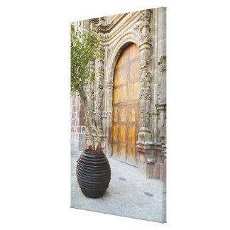 North America, Mexico, Guanajuato state, San 3 Stretched Canvas Prints