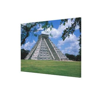North America, Mexico, Yucatan Peninsula, 2 Canvas Print