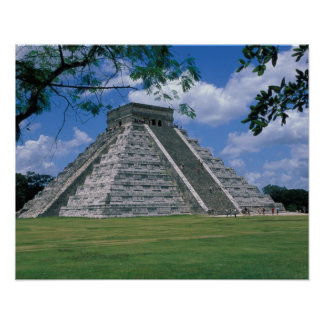 North America, Mexico, Yucatan Peninsula, 2 Print