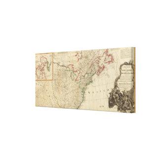North America north Canvas Prints