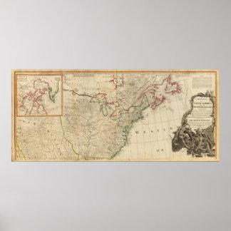 North America north Print