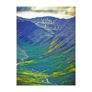 North America, United States, Us, Northwest Stretched Canvas Print