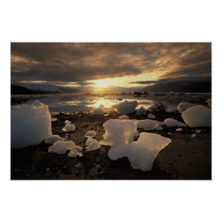 North America, USA, Alaska, Ice Bay, Icescape, Posters