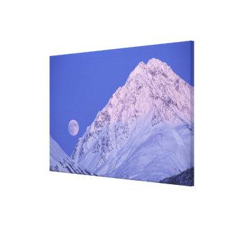 North America, USA, Alaska, Knik River, Canvas Print