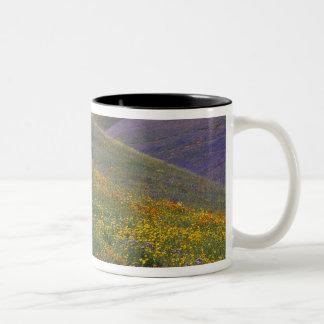 North America, USA, California, Los Angeles Two-Tone Coffee Mug