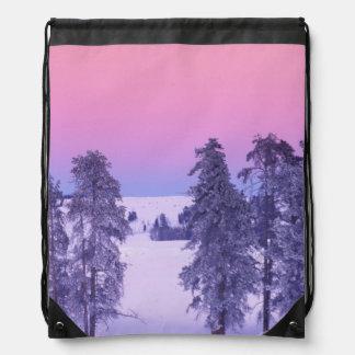 North America, USA, Montana, Yellowstone Drawstring Bag