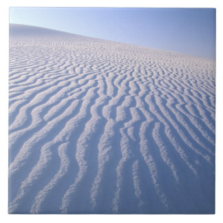 North America, USA, New Mexico, White Sand Dunes Tile
