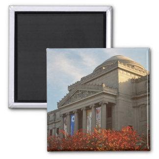 North America, USA, New York, New York City, 4 Square Magnet