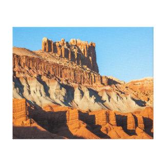 North America, USA, Utah, Torrey, Capitol Reef 2 Stretched Canvas Print