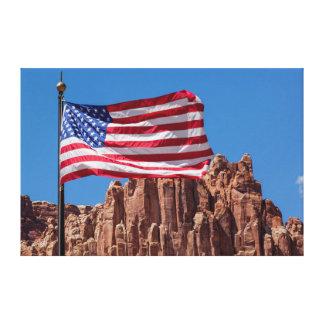 North America, USA, Utah, Torrey, Capitol Reef Canvas Prints