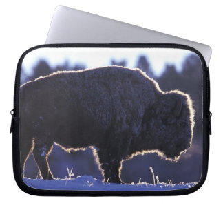 North America, Wyoming, Yellowstone National Laptop Sleeve