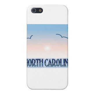 North Carolina Airbrush Sunset Case For iPhone 5/5S