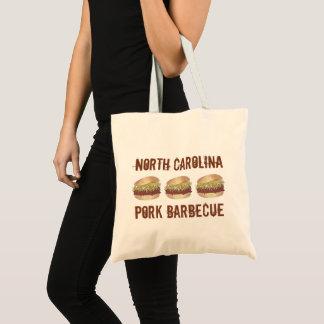 North Carolina NC Style Pork BBQ Barbecue Sandwich Tote Bag