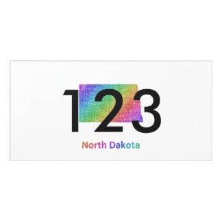 North Dakota Door Sign