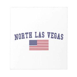 North Las Vegas US Flag Notepad
