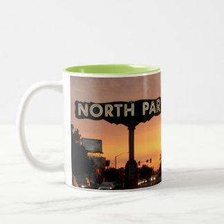 North Park San Diego Two-Tone Coffee Mug